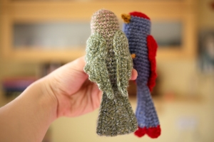 crochet bird 1